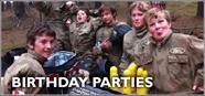 Birthday Parties Paintball